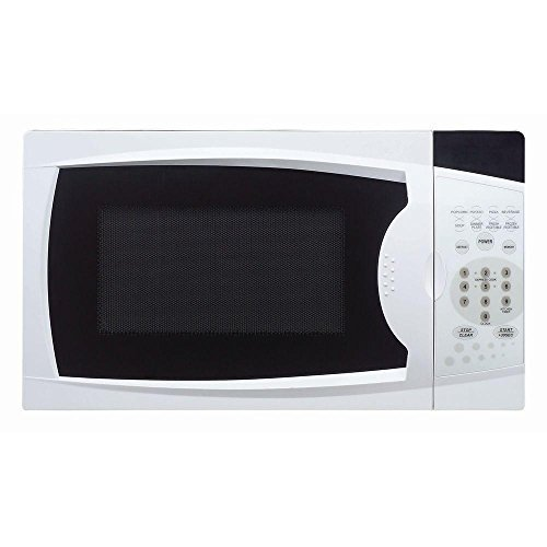 MAGIC CHEF Countertop Microwave Oven 0.7 cu. ft. White by Magic Chef (Magic Chef Wall Oven)