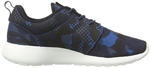 Blue Chaussures One obsdn sqdrn blk Course Roshe De Print Homme Brgd Nike Bl q8x4pgw