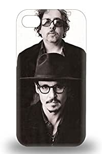 New Arrival Iphone Premium Iphone 4/4s 3D PC Case Johnny Depp American Male John Christopher Depp Pirates Of The Caribbean ( Custom Picture iPhone 6, iPhone 6 PLUS, iPhone 5, iPhone 5S, iPhone 5C, iPhone 4, iPhone 4S,Galaxy S6,Galaxy S5,Galaxy S4,Galaxy S3,Note 3,iPad Mini-Mini 2,iPad Air )