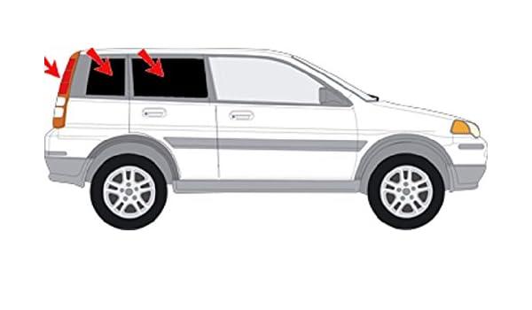 Auto sol protección Honda HRV 5türer Bj.99 - 06 art. 247235D- 5: Amazon.es: Coche y moto