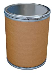 Vestil FD-15 Fiber Open Head Drum, 15 Gallon Capacity, 20\