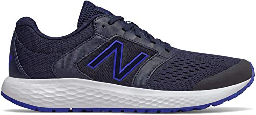 New Balance Men's 520v5 Cushioning Running Shoe, Navy/Blue, 9 D US (Best Soft Running Shoes)
