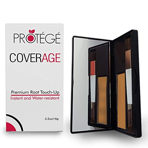 Premium Root Touch Up - CoverAge - Instant Temporary Root Concealer Cover Up Roots and Grays Between Salon Trips - Water Resistant - Color Roots like Magic Without Spray - Light Red/Strawberry Blonde
