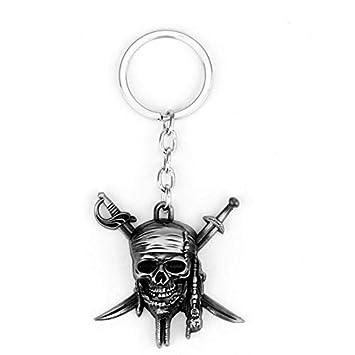 TUDUDU Película Piratas del Caribe Capitán Jack Llavero ...