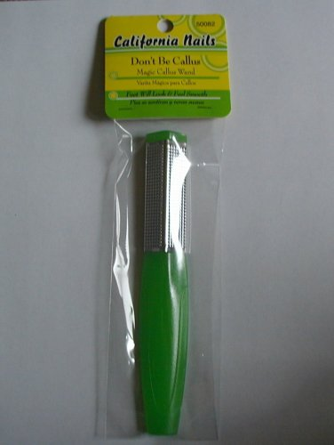 Magic Callus / Callous Remover Wand for Balls of Feet and Heels (Double/Dual Sided) - Great for Diabetic Foot Care!