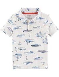 Carter's Baby Boys' Shark Print Polo T-Shirt
