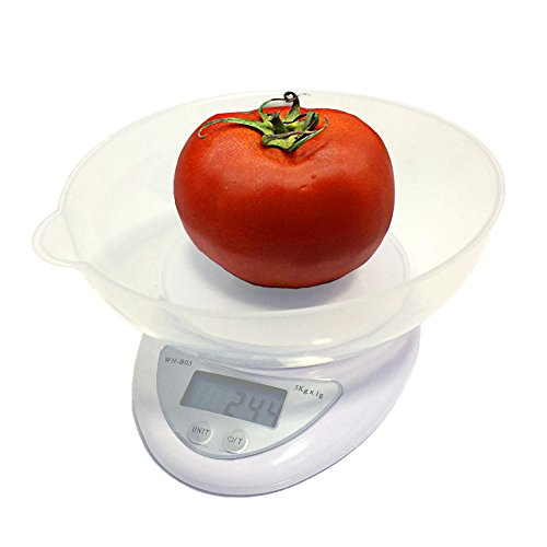 5000g/1g 5kg Food Diet Postal Kitchen Digital Scale scales balance weight weighting LED electronic - 5