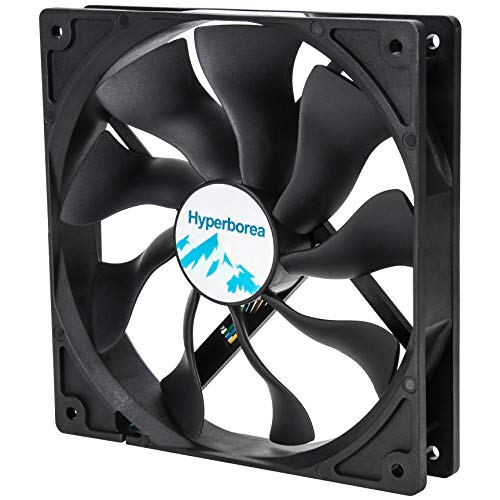 Rosewill Hyperborea 140mm Case Fan, Black ROCF-11003