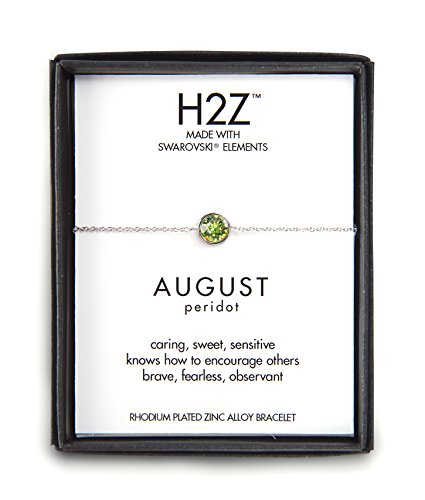 Pavilion Gift Company H2Z 16156 August Peridot Adjustable...