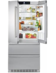 Liebherr CS2062 19.6 Cu. Ft. Stainless Steel Counter Depth French Door Refrigerator - Energy Star