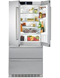 CS2062 36 Energy Star Rated Freestanding French Door Refrigerator with 19.4 cu. ft. Total Capacity IceMaker DuoCooling and 2 Glass Refrigerator Shelves in Stainless Steel