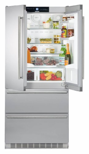 Liebherr CS2062 19.6 Cu. Ft. Stainless Steel Counter Dept...