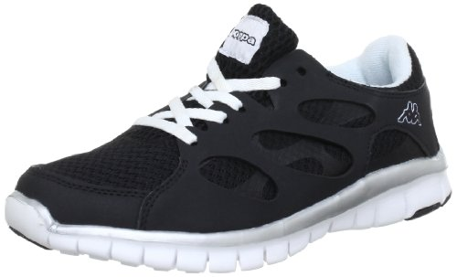 Kappa FOX 241560 - Zapatillas unisex Multicolor (Mehrfarbig (1110 BLACK/WHITE 1110 BLACK/WHITE))