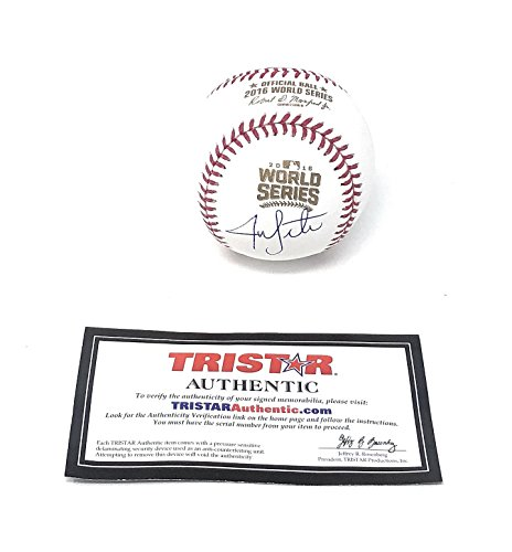 Jon Lester Chicago Cubs Signed Autograph Official MLB World Series Baseball Tristar Authentic - Chicago Mlb Cubs Signed Baseball