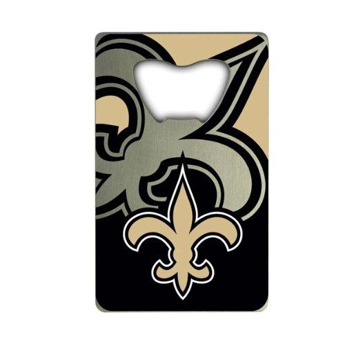 - NFL New Orleans Saints Credit Card Style Bottle Opener