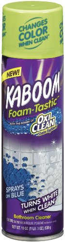 Kaboom Foam Tastic With Oxiclean Fresh, 19 Ounce (Pack Of 8)