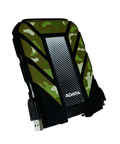 ADATA HD710M 1TB USB 3.0 Waterproof/Dustproof/Shock-Resistant External Hard Drive, Camouflage (AHD710M-1TU3-CCF)