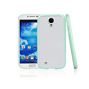 Hot Sales Bumper Skin Case with Crystal Clear Back Cover for Samsung Galaxy S4 (Green)