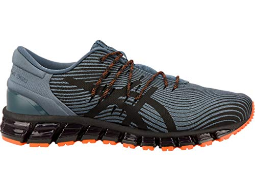 (ASICS Men's Gel-Quantum 360 4 Running Shoes, 10.5M, IRONCLAD/Black)