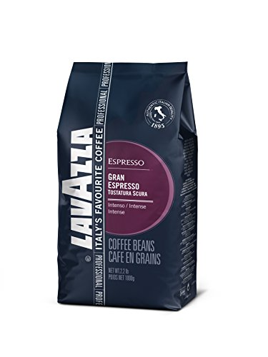 Lavazza Gran Espresso Whole Bean Coffee Blend, Espresso Roast, 2.2-Pound Bag (Chocolate Whole Bean Coffee)