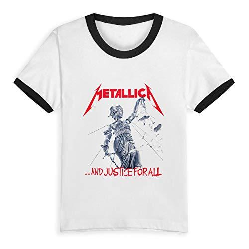 Metallica Toddler Kids Unisex Short Sleeve Fancy Crew Neck T-Shirt Tops