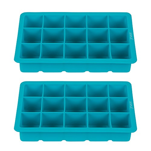 Silicone Ice Cube Tray (Blue) - 5