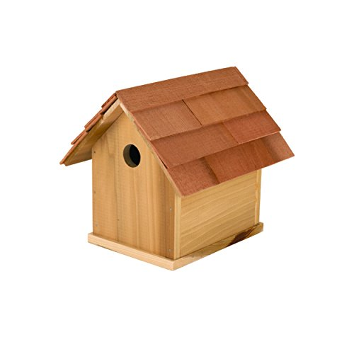 Quality Hardwood Barn Birdhouse Kit