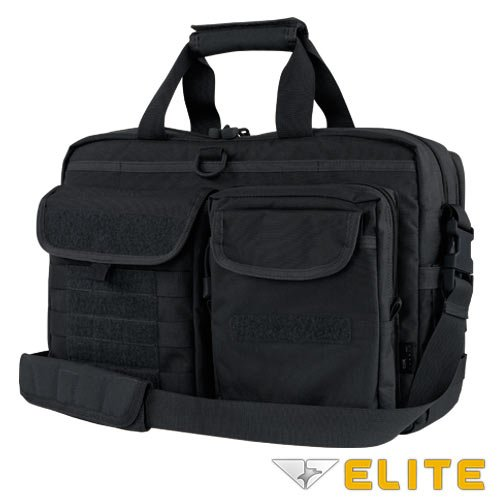 Condor Elite Tactical Metropolis Briefcase 111072-002 Black