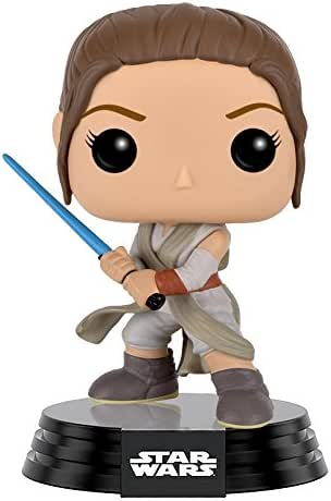 Funko POP Star Wars: Episode 7: The Force Awakens Figure - Rey with Lightsaber