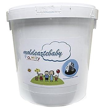 MOLDEARTEBABY UN RECUERDO INOLVIDABLE Las Huellas de tu Familia en 3D,Todo lo Necesario Incluido 4 Adultos, Adultos y bebés, No aceptes imitaciones ...