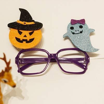 WSCOLL Accesorios creativos de Halloween Marco de Gafas ...