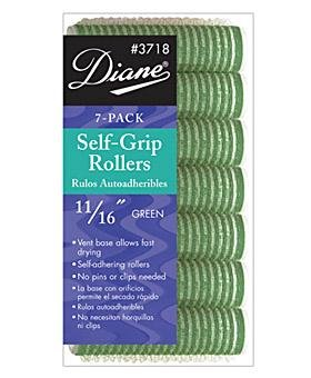 Diane Self Grip Rollers, Yellow, 1/2 Inch, 8 Count D3717