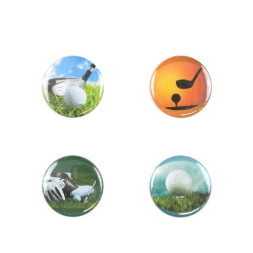 Il Bere Wine and Drink Charms Sports Collection, Par Hole -  C-GOLF-B