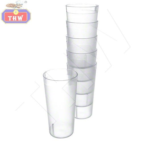 THW Unbreakable Break Resistant Drinking Glass- Polycarbonate, 300 ml (6 Piece Set) Price & Reviews