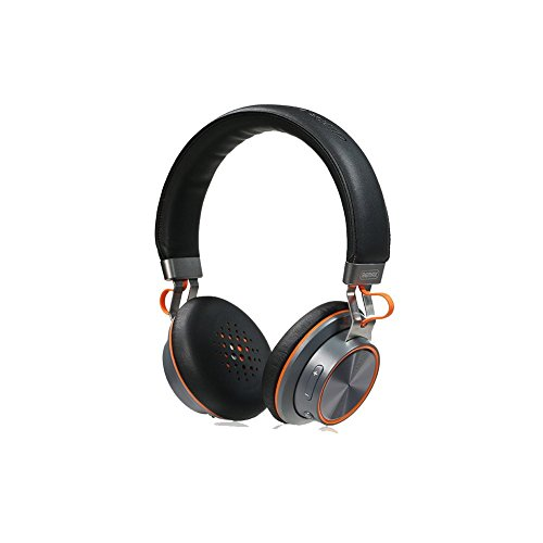Bluetooth Headphone, Remax 195HB Wireless Headphones Bluetooth 4.1 Stereo Headphones With Microphone Over-ear Music Headsets For Cellphones Computer Laptop Tablet TV (Black)