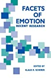 Facets of Emotion, Scherer, Klaus R., 0805801421