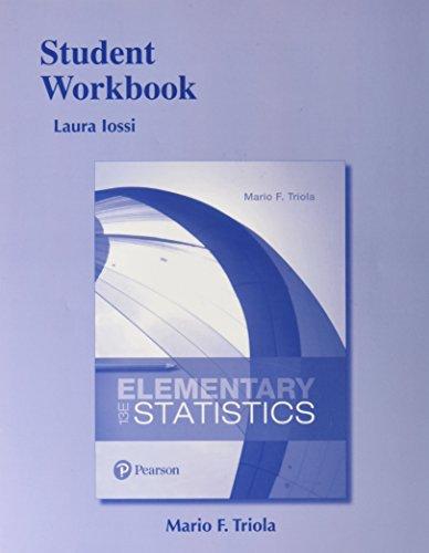 Student Workbook for Elementary Statistics