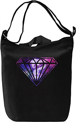 Galaxy Diamond Borsa Giornaliera Canvas Canvas Day Bag| 100% Premium Cotton Canvas| DTG Printing|