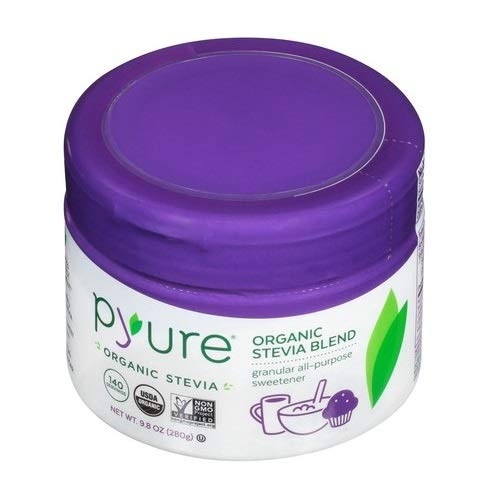 Pyure Organic All-Purpose Blend Stevia Sweetener, Sugar Substitute, Flip-Top Tub, 9.8 Ounce by Pyure (Image #3)