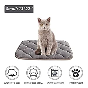 Furrybaby Dog Bed Mat Soft Crate Mat with Anti-Slip Bottom Machine Washable Pet Mattress for Dog Sleeping 23