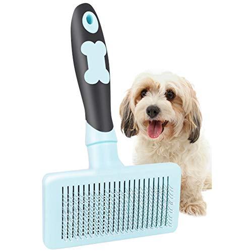 Dasior Pet Cat Dog Detangling Comb, Deshedding Tool for Long
