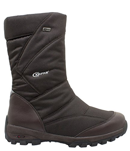 2920 Brown Boot Man SKELETON Snow Winter KEFAS pw1IBSxcq