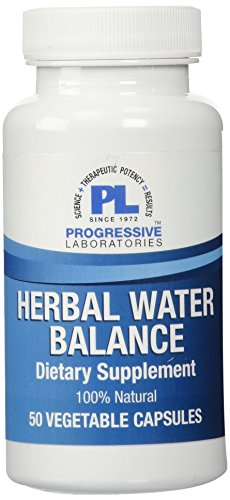 Progressive Labs Herbal Water Balance Supplement, 50 Count