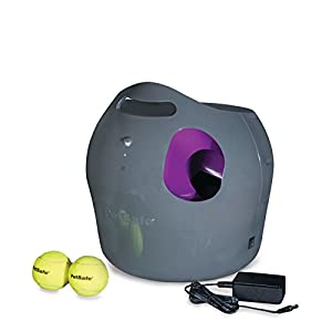 PetSafe Automatic Ball Launcher Dog Toy, Tennis Ball Throwing Machine for Dogs in Easy-Open Packaging 50