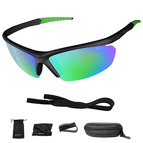 Polarized UV400 Sport Sunglasses Anti-Fog Ideal Driving Or Sports Activity