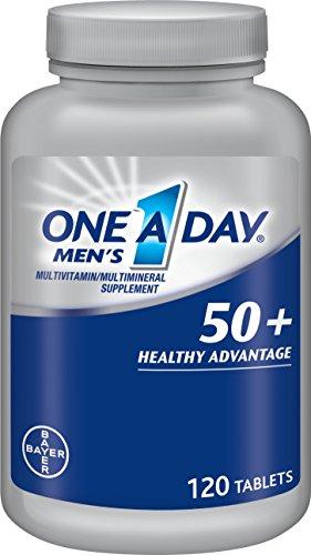 Одно день Мужская 50 Plus Advantage Multi-витамины, 120 Граф