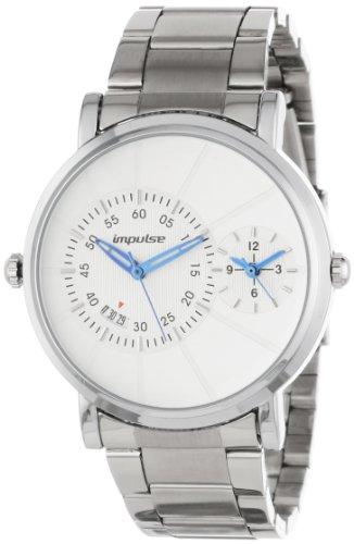Steinhausen Men's IM8353GW Magellan Calendar Dual Quartz with Date Watch, Watch Central