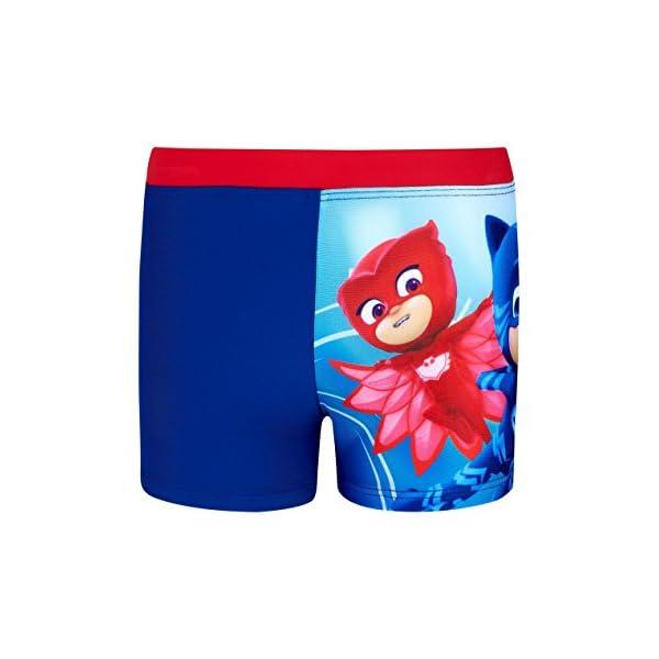 PJ Masks - Super pigiamini Ragazzi Shorts da mare - blu 1 spesavip