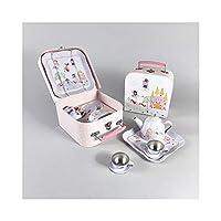 Floss & Rock Fairy Unicorn 7 Piece Play Tin Tea Set