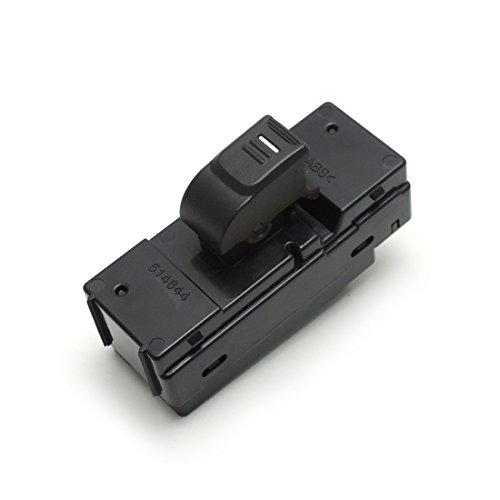 Power Window Switch Fits Rear Left and Right 2004-2012 Chevrolet Colorado 2004-2012 GMC Canyon 2006-2010 Hummer H3 2009-2010 Hummer H3T (97248531, 25884813, 15205245)